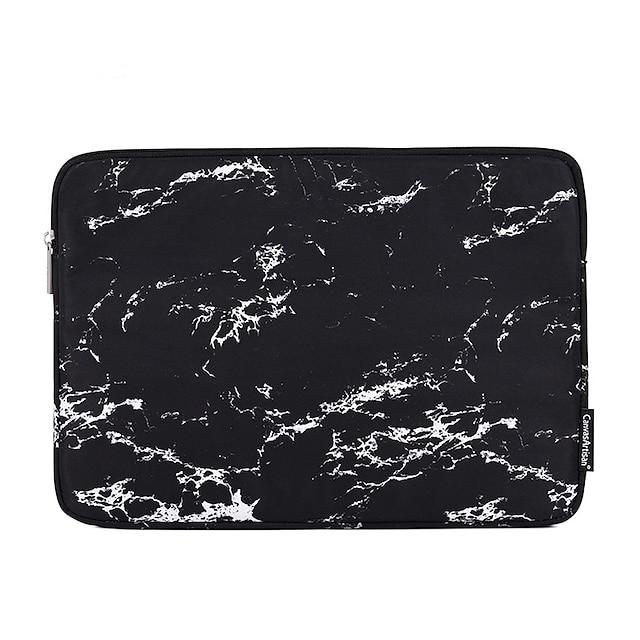 13.3 14.1 15,6 tommer universal marmorering vandtæt stødbestand bærbar taske taske til macbook / overflade / xiaomi / hp / dell / samsung / sony osv.