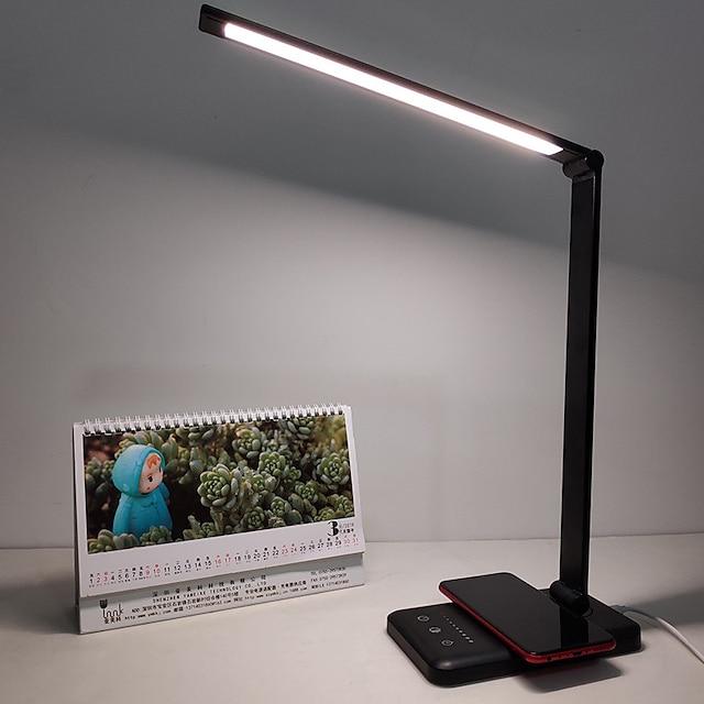 Φωτιστικό γραφείου Προστασία ματιών / Κινητό τηλέφωνο Ασύρματη χρέωση Σύγχρονη Σύγχρονη DC Powered Για Δωμάτειο Μελέτης / Γραφείο / Γραφείο DC 5V