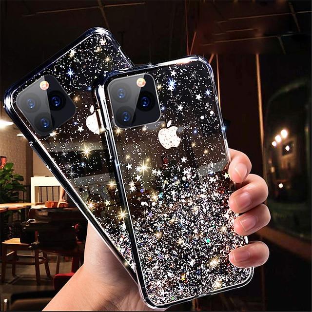 phone case for apple contraportada iphone 13 11 pro max glitter shine sky glitter shine tpu