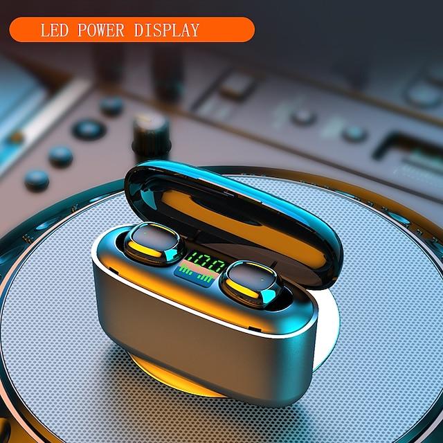 Imosi 3500mah LED Bluetooth Wireless Earphones True Wireless Headphones Earbuds TWS Touch Control Sport Headset Noise Cancel Waterproof