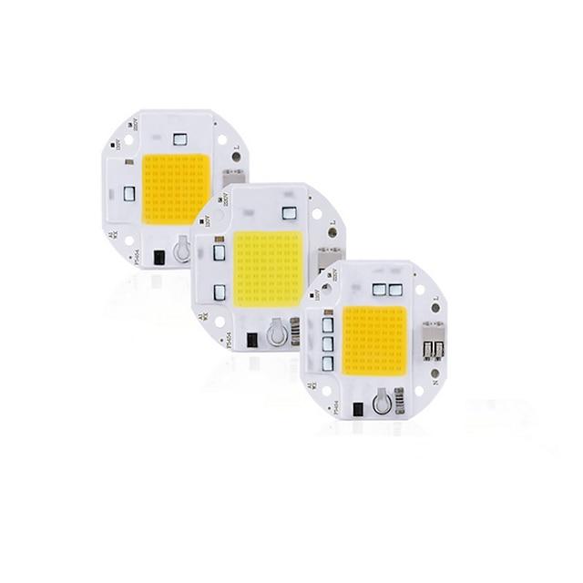 haute puissance 100w 70w 50w épi led puce 220v 110v led épi puce soudage diode gratuite pour projecteur projecteur intelligent ic pas besoin de pilote