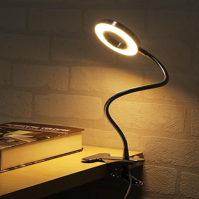 Stolna lampa / Uredska lampa / Svjetlost za čitanje Prilagodljiv / Zatamnjen Suvremena suvremena USB napajanje Za Spavaća soba / Ured Crn / CE