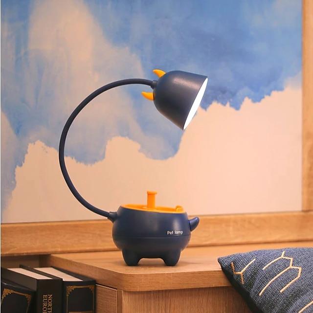 Lámpara de Escritorio Recargable / Protección para los Ojos / Ajustable Contemporáneo moderno Alimentado por USB Para Dormitorio / Habitación de estudio / Oficina DC 5V Rosa / Verde Trébol / Blanco