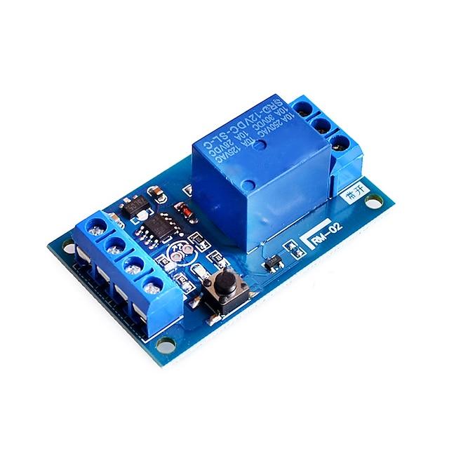 12 v bond módulo de relé biestável interruptor de modificação de carro uma chave iniciar e parar