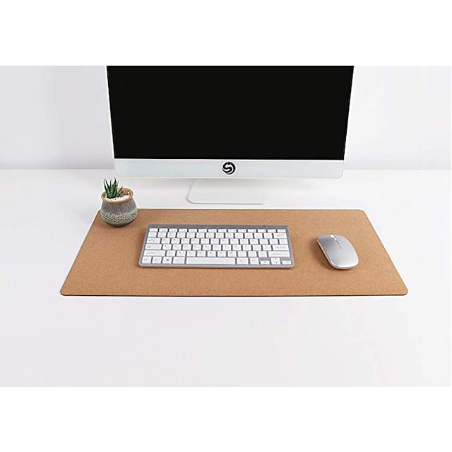 RM600 Cork Mouse Pad 600*330*2.5mm Natural Large Size Desk Mat for Office