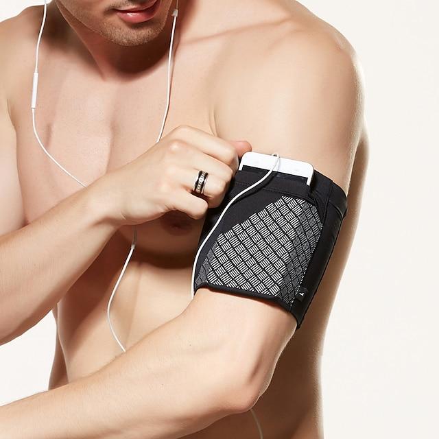 Bracciale telefonico Esecuzione di bracciale per Escursionismo Attività all'aperto Corsa Viaggi Borse per sport Riflessivo Regolabile Ompermeabile Poliestere Per donna Per uomo Marsupio da corsa