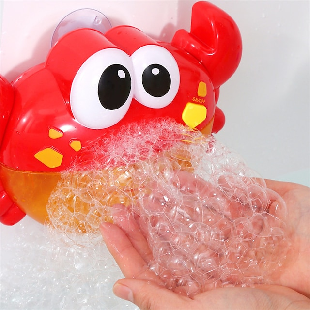 Crab Bath Toy, Bubble Bath Maker for The Bathtub, Blows Bubbles and Plays Children's Songs – Kids Bath Toys Makes Great Gifts for Toddlers – Sing-Along Bath Bubble Machine