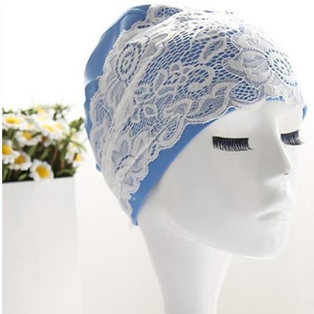 כובעי שחיה ל מבוגרים שינלון עמיד למים נשימה מתיחה שחייה גלישה