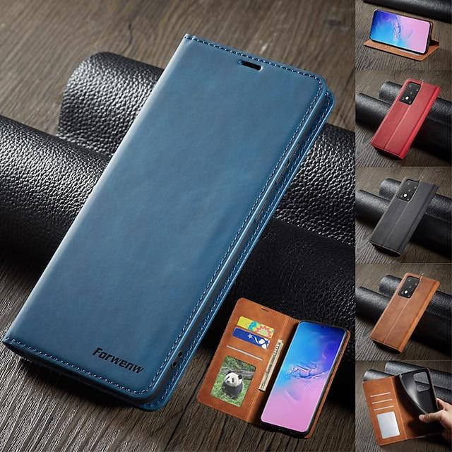 τηλέφωνο tok Για Xiaomi Πλήρης Θήκη Δερμάτινη θήκη Θήκη κάρτας πορτοφολιού Redmi Note 9T Xiaomi POCO X3 Xiaomi Poco X3 NFC Σημείωση 8 Redmi Redmi Note 8 Pro Poco X3 Pro Poco F3 Σημείωση 10 Redmi