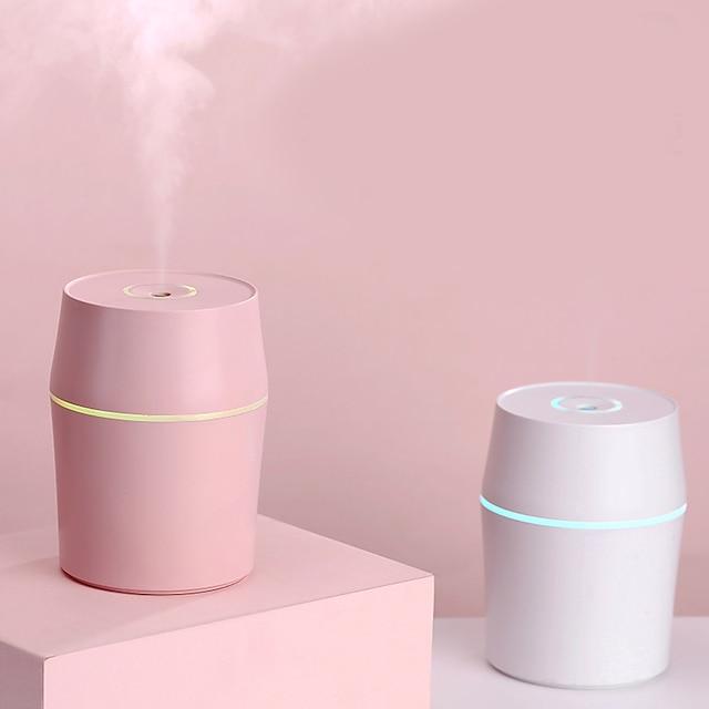 Air Humidifier USB Portable Multi-Functional Humidifier 200ml Air Purifying Mist Maker