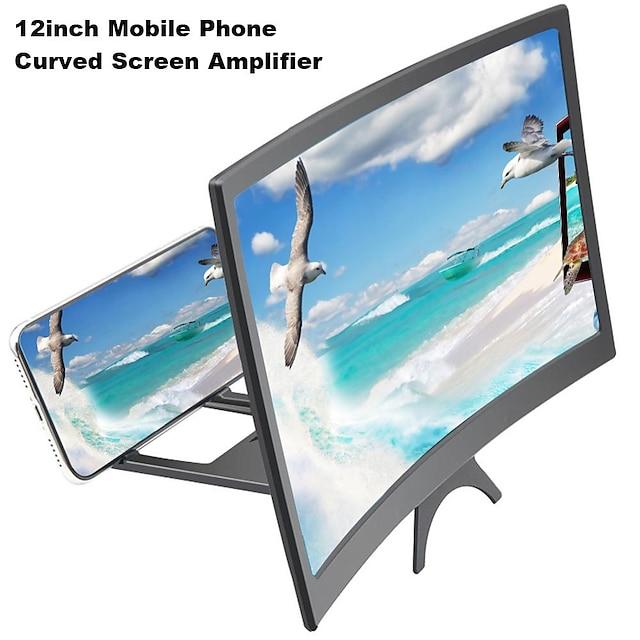 Suportes para Celular De Cama De Mesa Celular Dobrável Suporte de mesa para telefone Ajustável Novo Design Ampliador de tela ABS Acessório para Celular iPhone 12 11 Pro Xs Xs Max Xr X 8 Samsung Glaxy