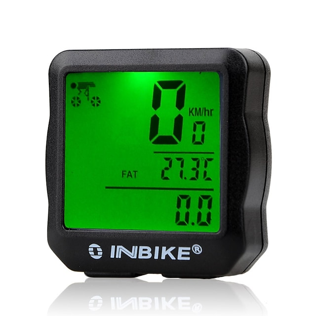 IC528 Bike Computer / Bicycle Computer Odo - Odometer SPD - Current Speed 12/24 Hours System Mountain Bike / MTB Road Bike Recreational Cycling Cycling