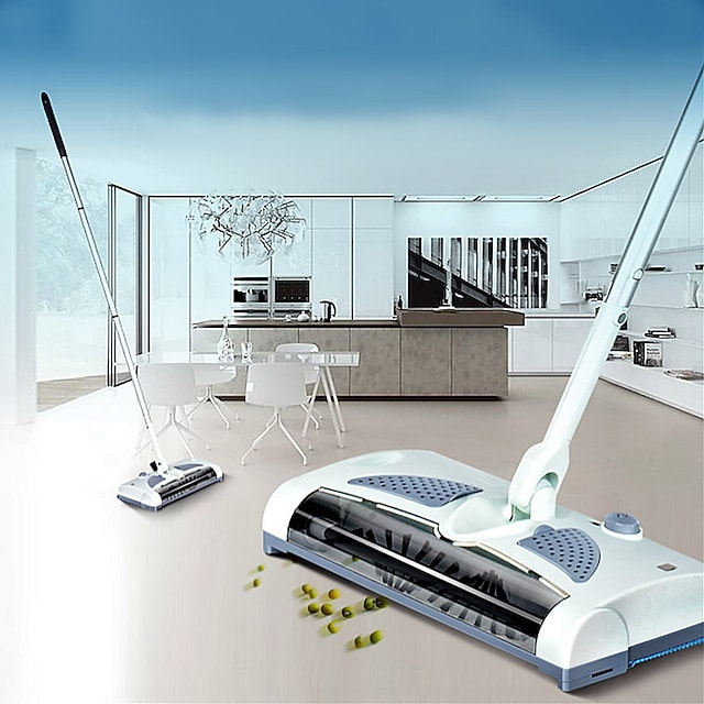 Wireless Sweeper Electric Floor Sweeper Electric Broom Mops 360 Degree Rotatable Vacuum Cleaner for home Dust Cleaner
