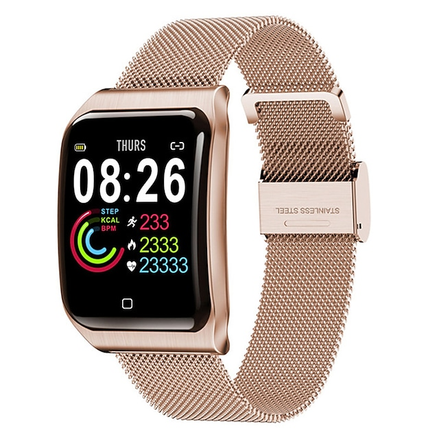 f9 brățări inteligente unisex bandă de fitness bluetooth monitor de ritm cardiac măsurarea tensiunii arteriale calorii arse mult timp în așteptare îngrijire a sănătății cronometru pedometru apel reminder somn tracker sedentar