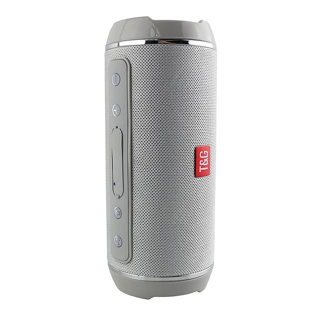 t & g bluetooth hangszórók hordozható vezeték nélküli hangszóró lejátszó usb rádió fm sztereó zene hang verejtékálló oszlop a szabadban