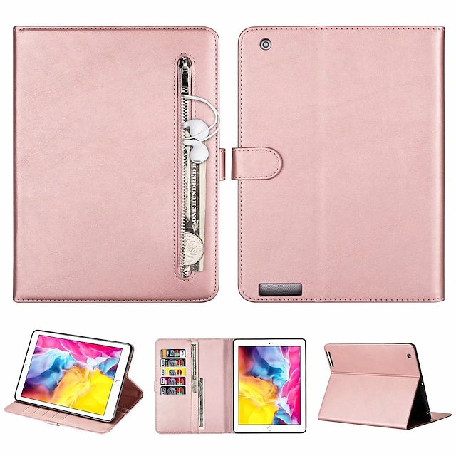 téléphone Coque Pour Apple Coque Intégrale iPad Air iPad 4/3/2 iPad (2018) iPad Pro 11 pouces iPad New Air (2019) iPad 10.2''(2019) iPad Pro 10.5 iPad Air 2 iPad (2017) iPad 5 Portefeuille Porte