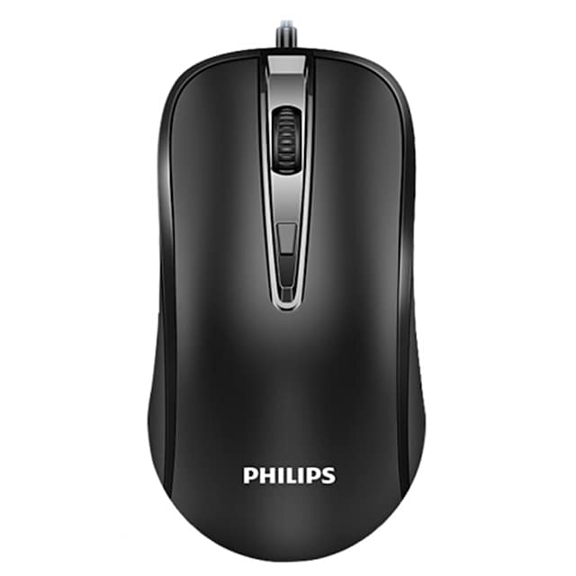 Souris de bureau laser USB filaire 2.4g portable Philips M214 pour ordinateur portable