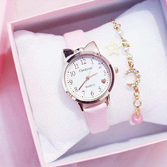 키즈 쿼츠 시계 아날로그 쿼츠 세련된 패션 크리에이 티브