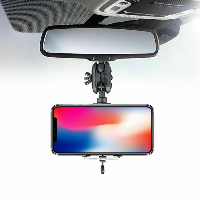 Telefontartó Autó Légtelenítő rács Első szélvédő 360° forgás 360 ° -os elforgatás ABS Mobiltelefon tartozék iPhone 12 11 Pro Xs Xs Max Xr X 8 Samsung Glaxy S21 S20 Note20