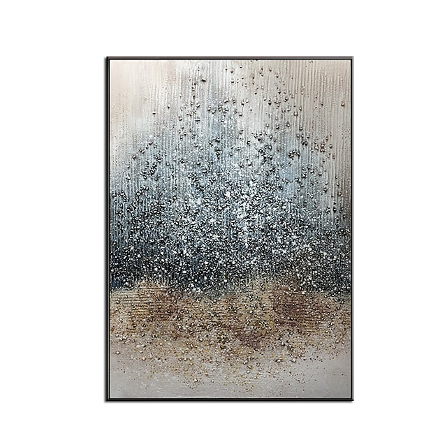 100% Hand painted Large Abstract PaintingModern abstract paintingoil hand paintingoffice wall artoriginal abstracttextured art Hand Painted Rolled Without Frame