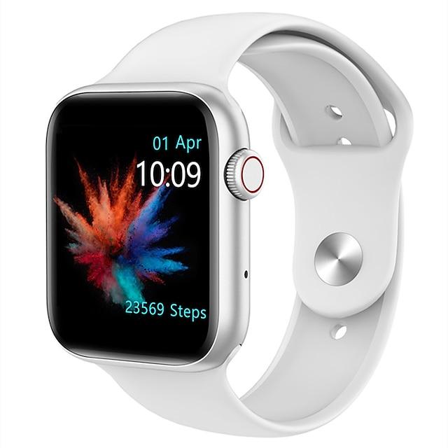 QS18 Smart horloge Bluetooth Stappenteller Gespreksherinnering Activiteitentracker Waterbestendig Aanraakscherm Hartslagmeter IP 67 40 mm horlogekast voor Android iOS Man vrouw / Lange stand-by