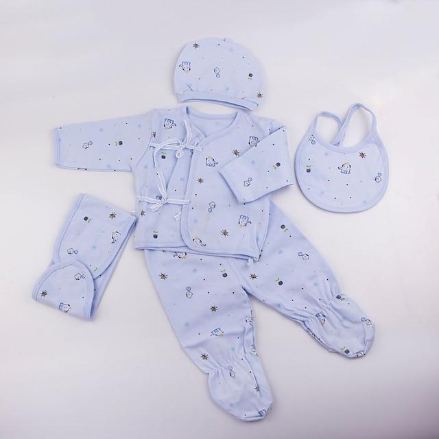 Reborn Baby Dolls Clothes Accesorios para muñecas renacidas Tejido de Algodón para muñeca renacida de 22-24 pulgadas No incluye muñeca renacida Elefante Suave Puro hecho a mano Chica 5 pcs