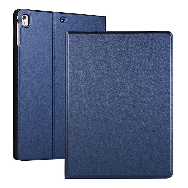 telefon Maska Pentru Apple Carcasă Telefon iPad Mini 3/2/1 iPad Mini 4 iPad Mini 5 Întoarce Auto Sleep / Alarmă Mată PU piele TPU