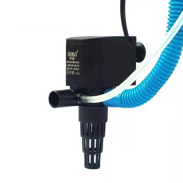 Akvaryum Akvaryum Hava Pompaları Su Pompaları Filtreler Elektrikli süpürge Ayarlanabilir Gürültüsüz Plastik 1set 220-240 V / # / #