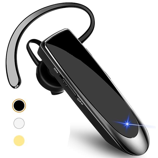 LITBest B41 Handsfree telefoon rijden Headset Bluetooth 5.0 Stereo met microfoon Met volumeregeling voor Apple Samsung Huawei Xiaomi MI voor Office Business
