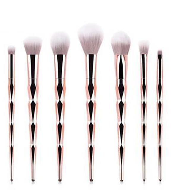 Professional Makeup Brushes 7pcs Professional Soft Full Coverage Comfy Plastic for Eyeliner Brush Blush Brush Foundation Brush Makeup Brush Eyeshadow Brush