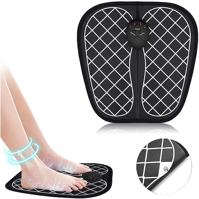 Portable Foot Massager Relieve Pain Promoting Blood Circulation Deep Kneading Shiatsu Foot Acupoint Muscle Stimulato Massager