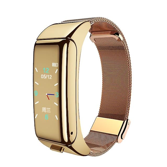 Ckyrin W1 B Inteligentní hodinky Bluetooth Voděodolné Dotykový displej Monitor srdečního tepu EKG + PPG Časovač Stopky 18mm pouzdro na hodinky pro Android iOS Samsung Xiaomi Apple Muži ženy