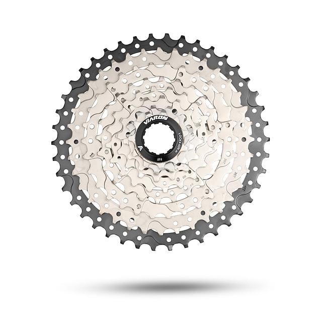 Cassetta Mountain bike Acciaio Nero / Fucsia