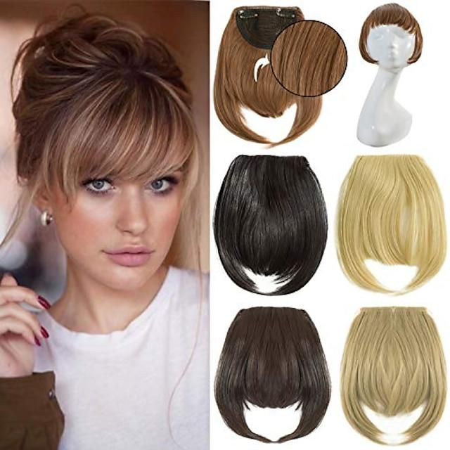 fringe bangs hair extensions 7