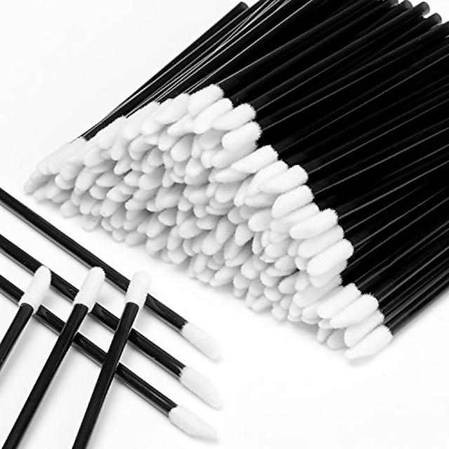 disposable lipstick wands applicators 600pcs lipstick lipgloss applicators tester wands disposable lip brushes disposable makeup applicators  makeup brushes tool kits black
