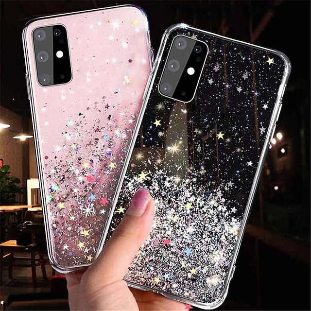 Glitter Bling Sequins Case for Samsung Galaxy Note 20 Note 20 Ultra Note 10 Note 10 Plus S20 S20 Plus S20 Ultra S10 S10 Plus S10E S10 Lite S9 S9 Plus A10 A20 A30 A50 A70 A11 A21 A21S A31 A41 A51 A71