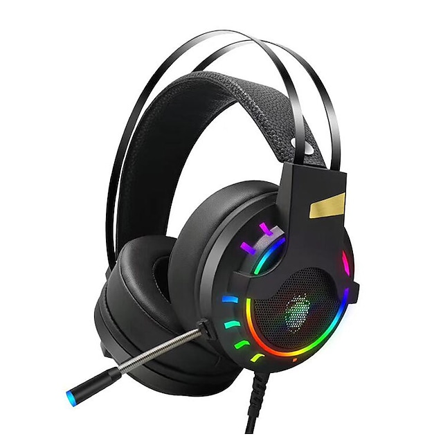 LITBest HG8 Gaming Headset USB 3.5mm Headphone 3.5mm Microphone Desktop Computer Stereo with Microphone with Volume Control for Apple Samsung Huawei Xiaomi MI  Gaming PlayStation Xbox PS4 Switch