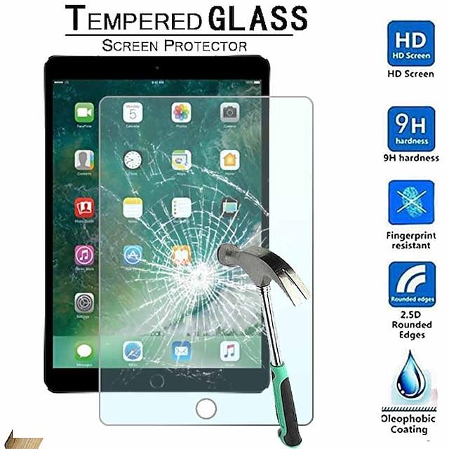 manzanaScreen ProtectorAlta definición (HD) iPad Air 3 (2019) de 10,5 pulgadas 1 pieza protectores de pantalla iPad Vidrio Templado