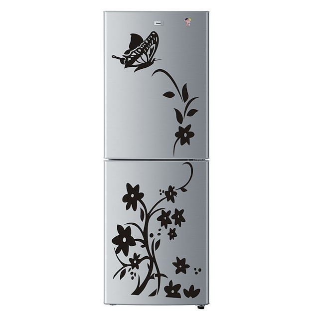 High Quality Creative Refrigerator Sticker Butterfly Pattern Wall Stickers Home Decoration Kitchen Wall Art Mural Decor