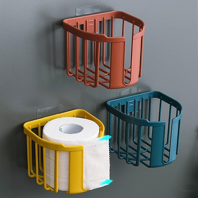 Toiletrolhouder Zelfklevend / Multifunctioneel Hedendaagse / Modern ABS + PC 1 stuk - Badkamer Muurbevestigd