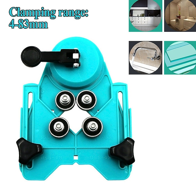 Tile Glass Marble Punch Fixer Drilling Positioner Tile Chamfer Hole Locator Tool