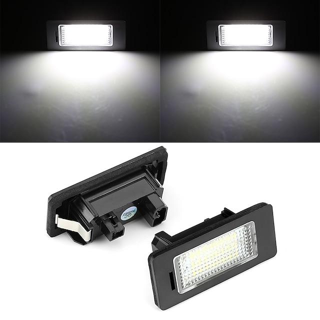 2 adet 2 w 12 v 6500 k plaka lambası için e81 e82 e90 e91 e92 e93 e60 e61 e39 x1 / e84 x5 / e70 x6 / e71