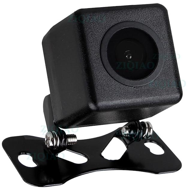 ZIQIAO Car Reverse Rear View Camera Universal Waterproof Night Vision HD Parking Backup Camera HS008