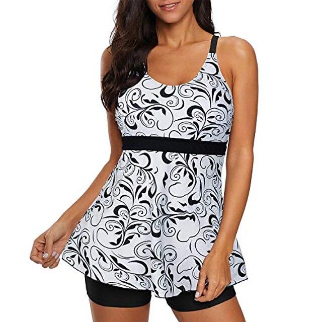 μαγιό για γυναίκες δύο τεμάχια μαγιό μακρύ κορμό μπλουζάκι μπλουζάκι μπλουζάκι μπλουζάκι μπλουζάκι με τζιν παντελόνι μπλουζάκι 2 κομμάτια μαγιό μαύρο λευκό m (us 6-8)