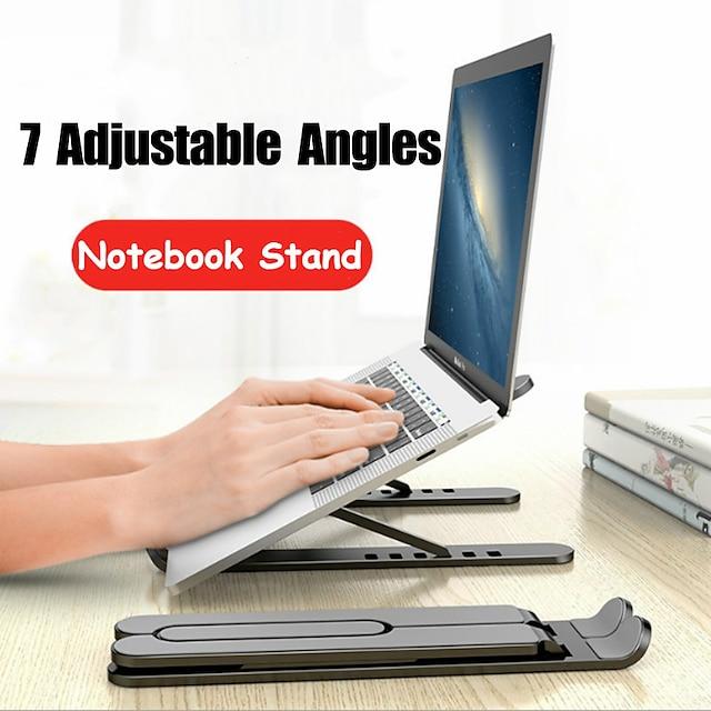 justerbar sammenleggbar bærbar PC-stativ sklisikker stasjonær bærbar PC-holder bærbar PC-holder sfor bærbar PC macbookproair2020 ipadpro2020