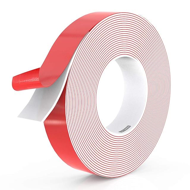 両面粘着防水フォームテープ幅10mm、さまざまな長さの頑丈な取り外し可能な残留物がない屋内LEDライトストリップ用