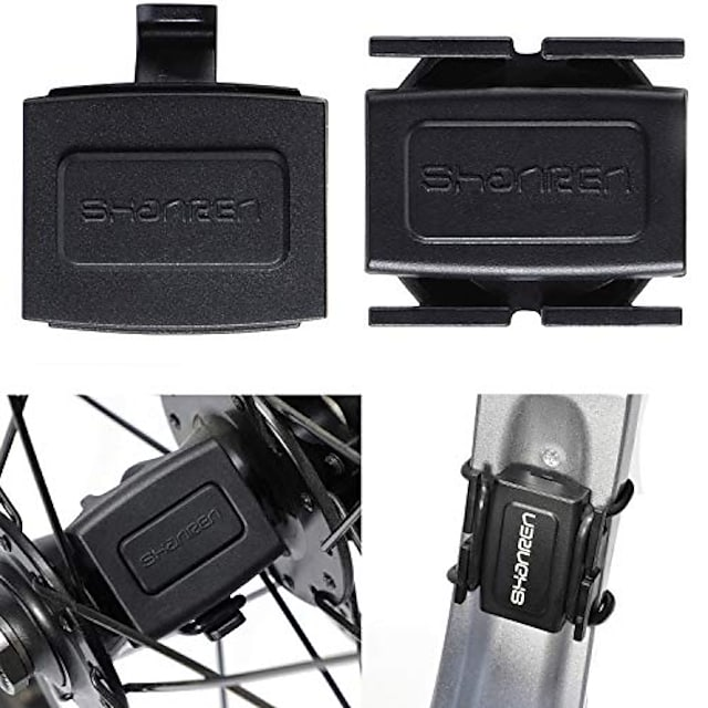 sensor de velocidad y cadencia de ciclismo bluetooth / ant + inalámbrico para computadora de ciclismo, iphone, reloj inteligente / teléfono / tv, ipad, computadora