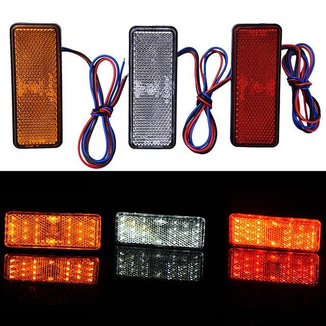 Motocicletta / Auto LED Fanale posteriore Lampadine 2.4 W Per Moto / Universali Tutti gli anni 2 pezzi