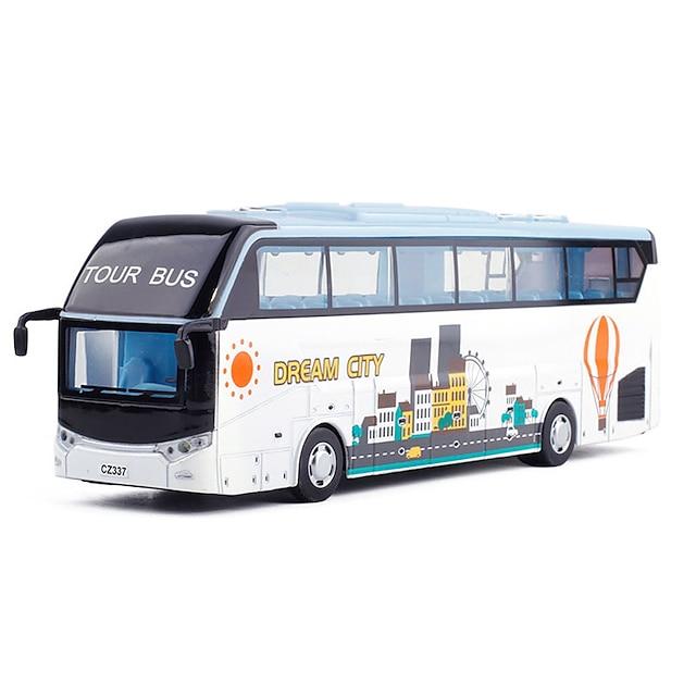 Alliage Autobus à impériale Véhicule de construction de camion jouet Simulation Musique et Lumière Tous Enfants Adultes Jouets de voiture