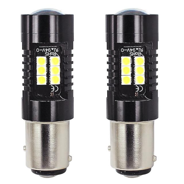 otolampara 2 unità ha condotto la luce del segnale di svolta 1157 21w modello di illuminazione a punti lampadina a fascio auto bay15d 1/1 oem dimensione della lampadina alogena 50000 ore di durata